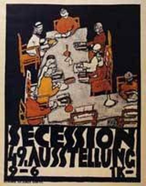 Forty Ninth Secession Exhibition Poster 1918